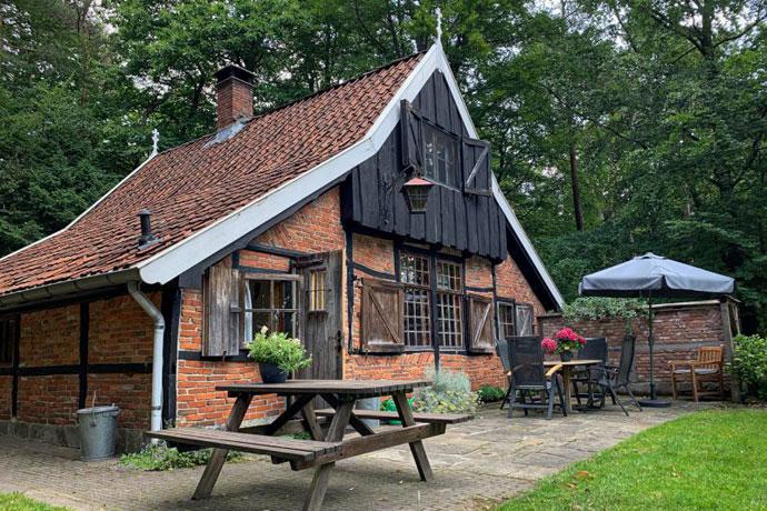 Afgelegen natuurhuisje in Hezingen