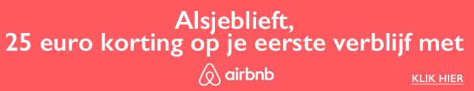 Korting Airbnb