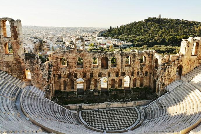 Stedentrip in de herfst: Athene