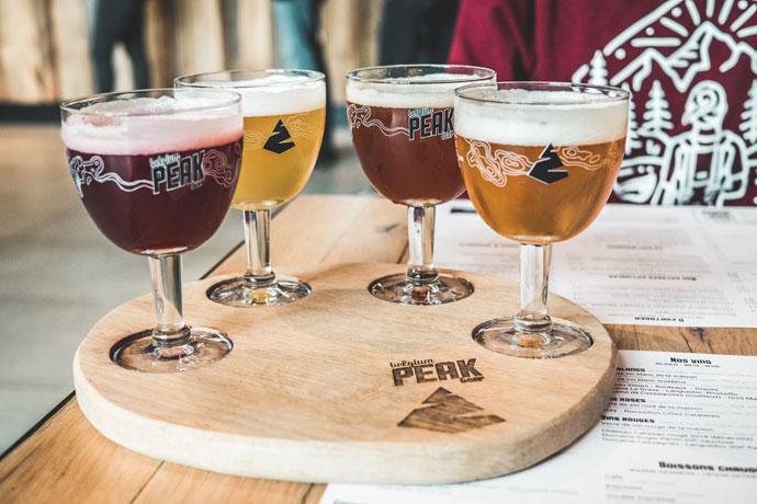 Peak Brewery, Ardennen, België