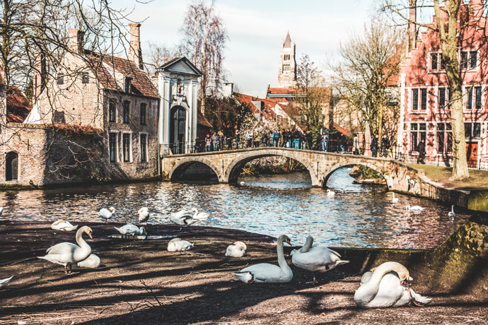 Minnewater, Brugge