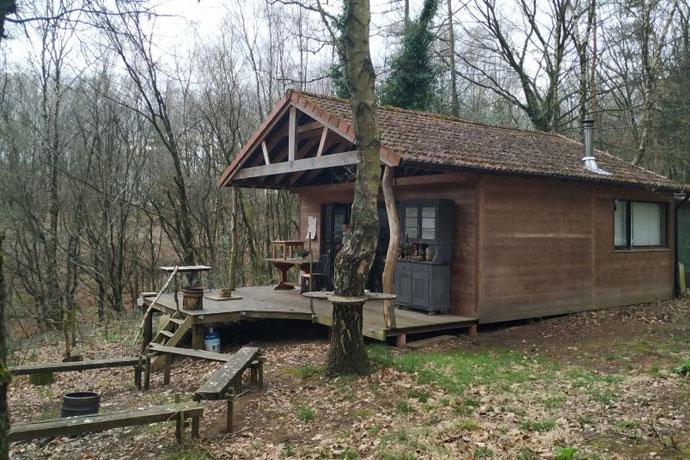 Afgelegen natuurhuisje in België