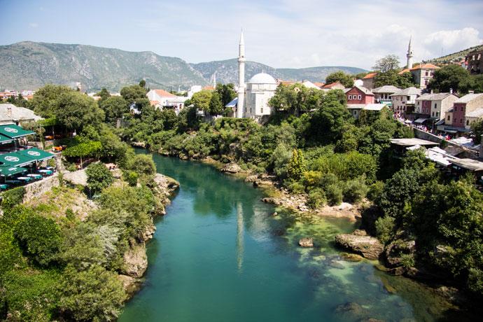 Mostar, Bosnië Herzegovina
