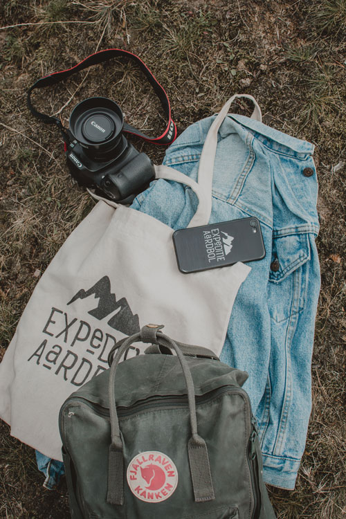 Camera mee op reis