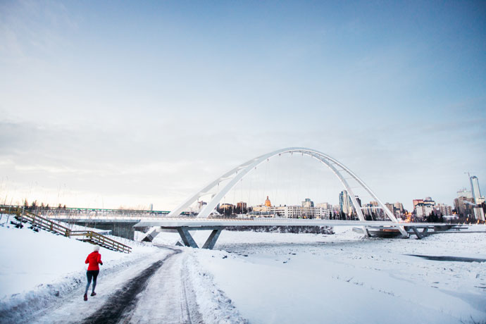 Wintersport in Canada, Edmonton