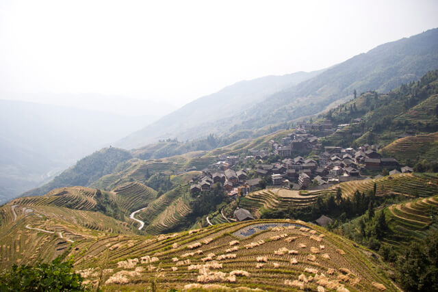 Longsheng: Dragon's Backbone Rice Terraces