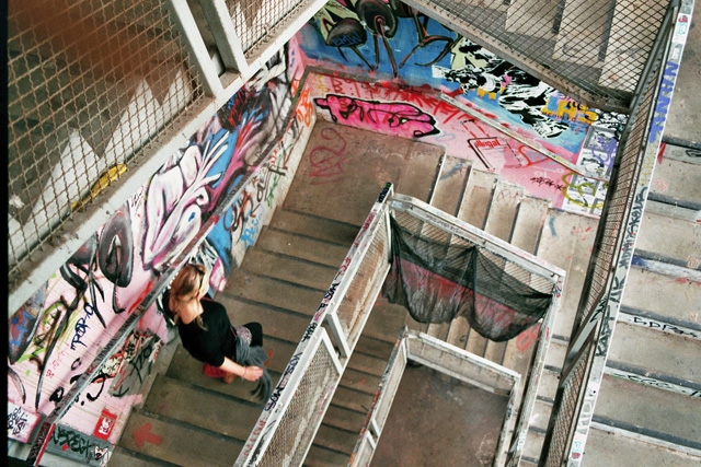 Berlijn: Street art door een analoge lens