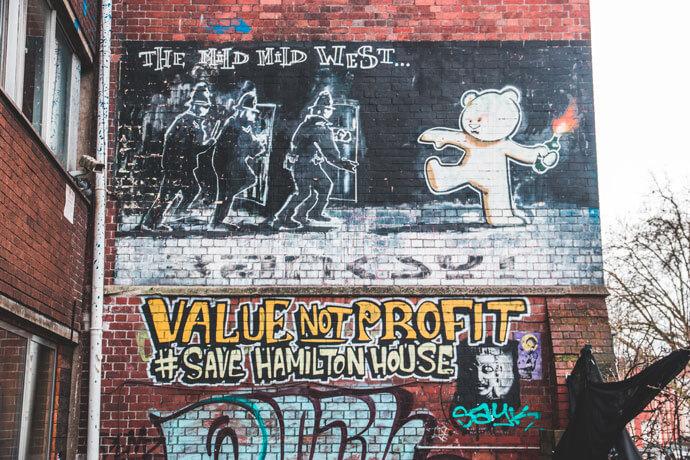 Bristol Banksy: The Mild Mild West