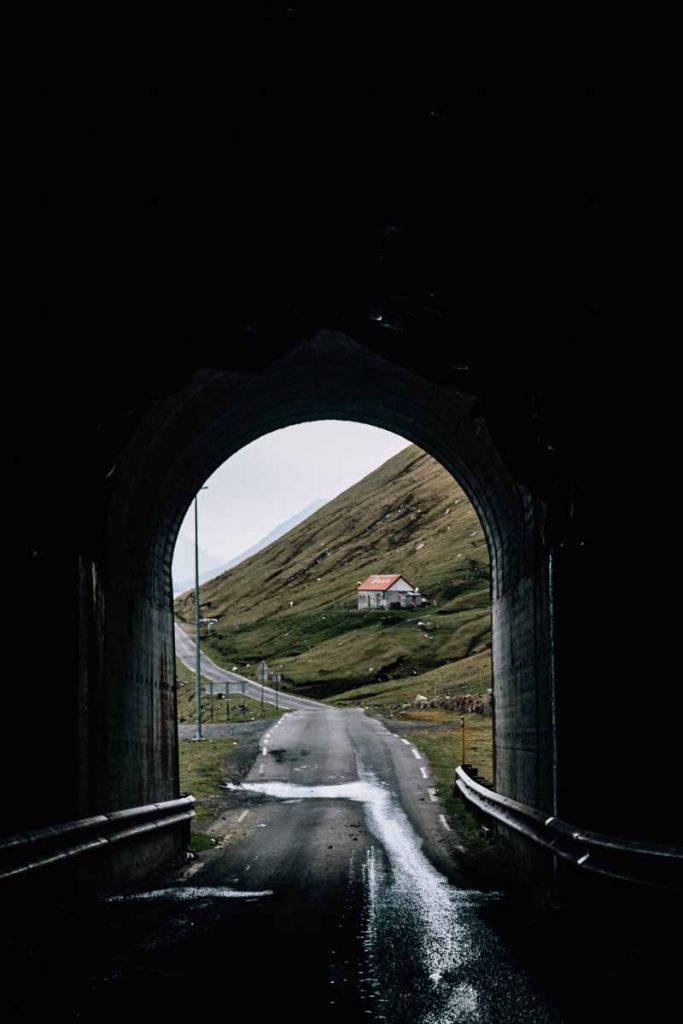 Tunnels op de Faeröer eilanden
