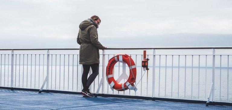 Met de boot naar de Faeröer Eilanden en IJsland