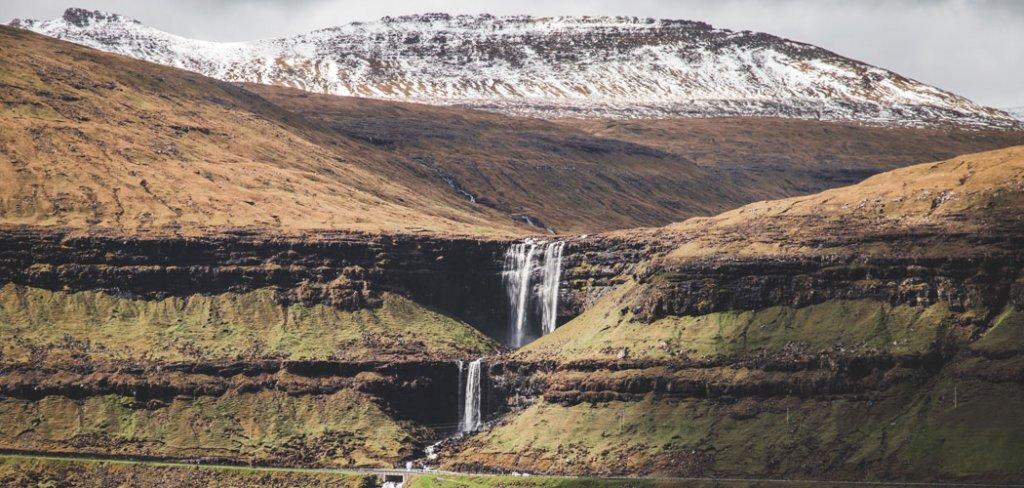 Watervallen Faeröer Eilanden