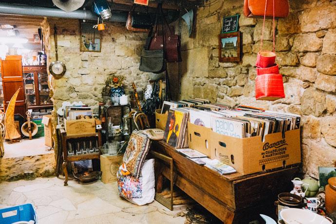 Brocante in de Dordogne