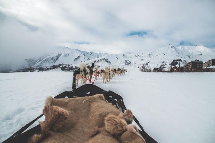 Frankrijk: Huskytocht in de Franse Alpen