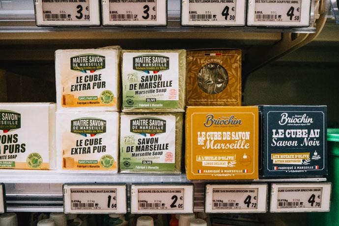 Franse supermarkt