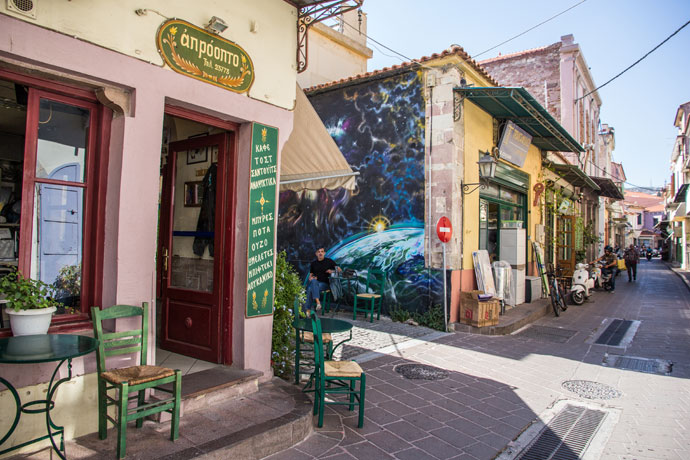 Mytilini, Lesbos, Griekenland