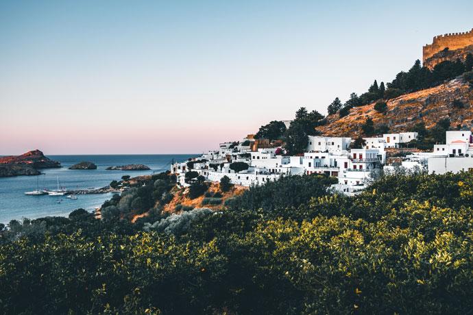 Mooiste Griekse eilanden: Rhodos
