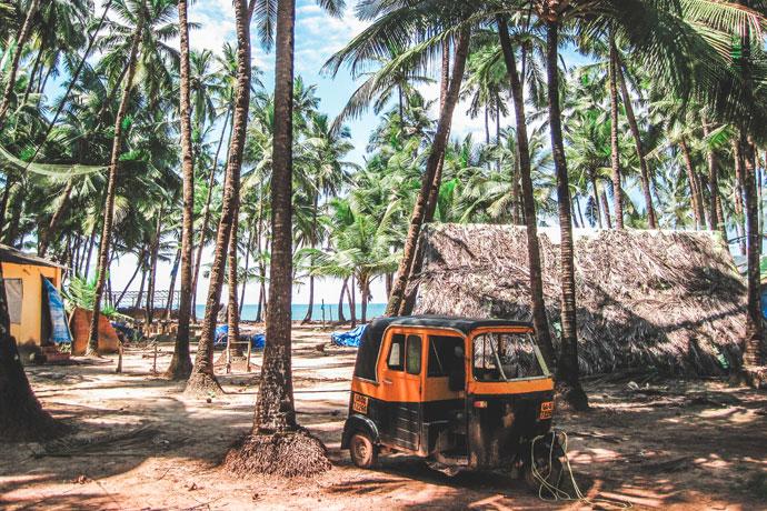India - strand van Goa