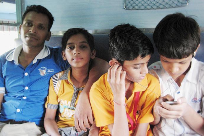 Reizen met de trein door India