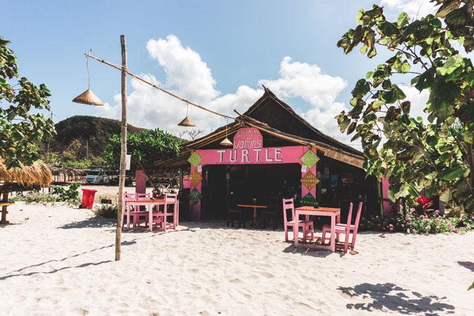 Warung Turtle, Tanjung Aan, Lombok