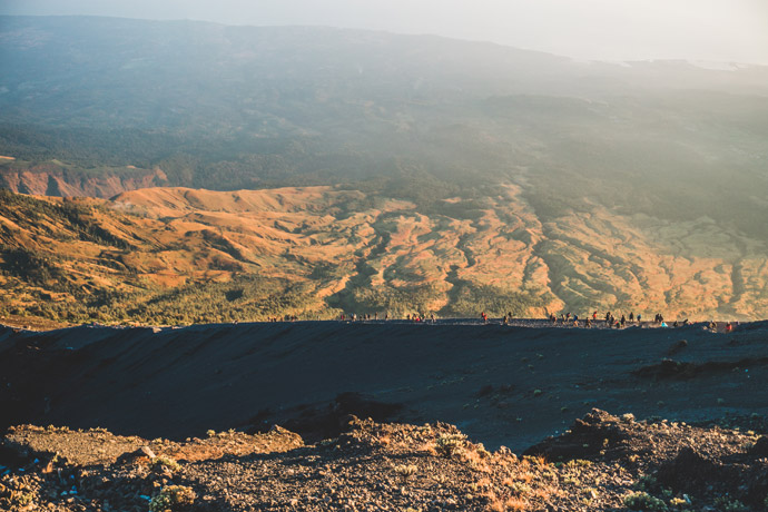 Lombok: Rinjani beklimmen