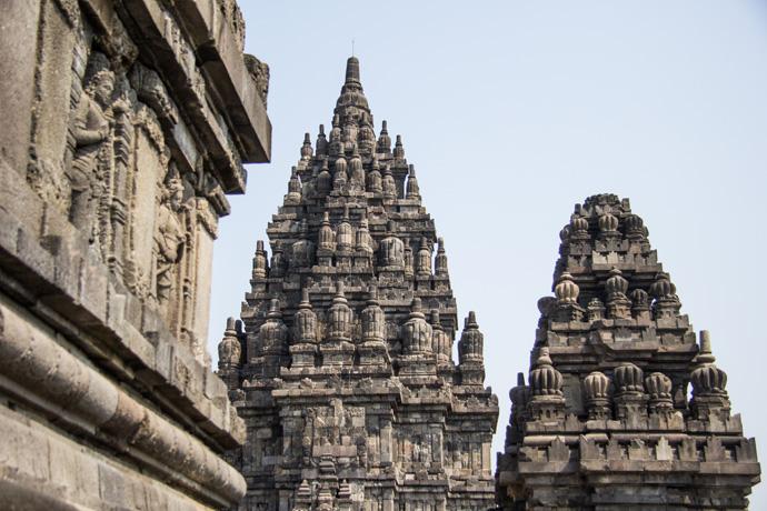 Indonesië: Het Prambanan tempelcomplex in Yogyakarta