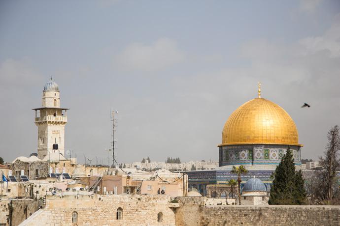 Israel-Jeruzalem-Dome