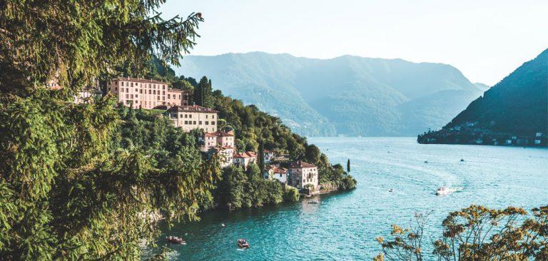 Comomeer Italië