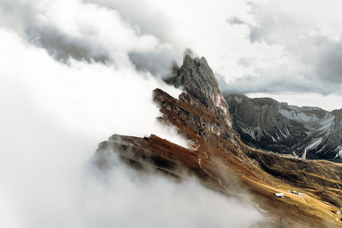 Seceda - bezienswaardigheden in de Dolomieten