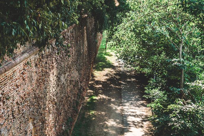 Stadsmuren in Ferrara