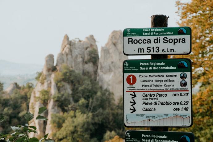 Routes Sassi di Roccamalatina