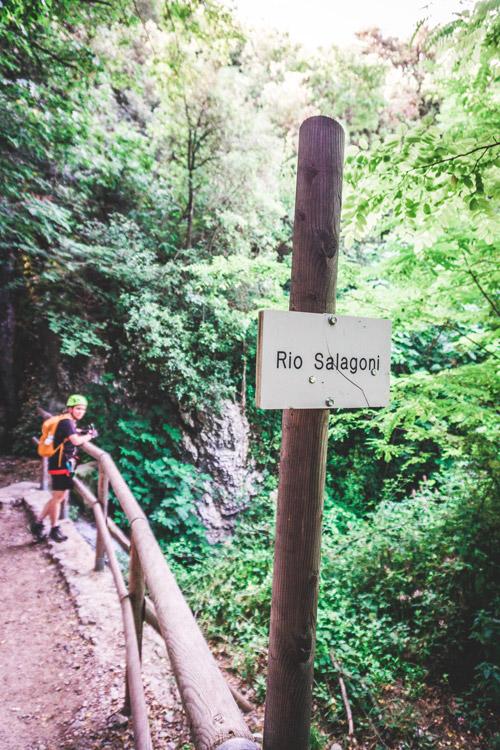 Italië: Via ferrata in de Rio Sallagoni bij het Gardameer