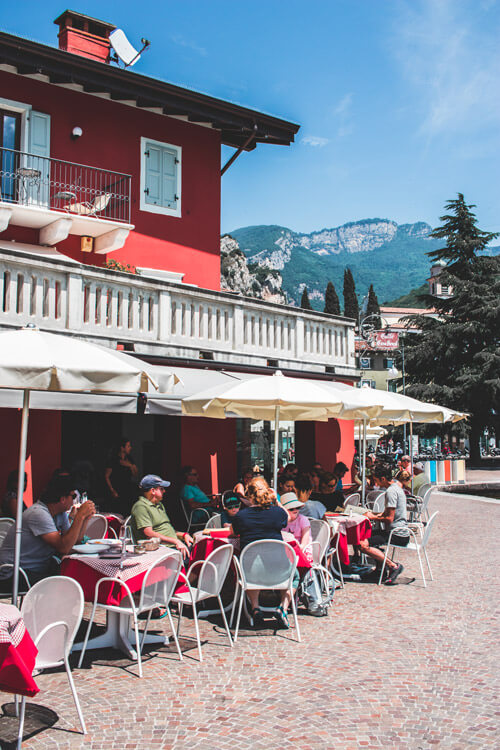 Restaurants Gardameer, Italië