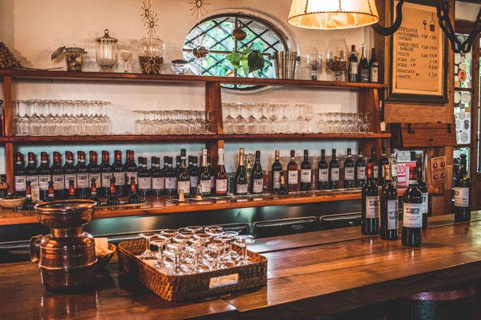 Wijn proeven in de Veneto