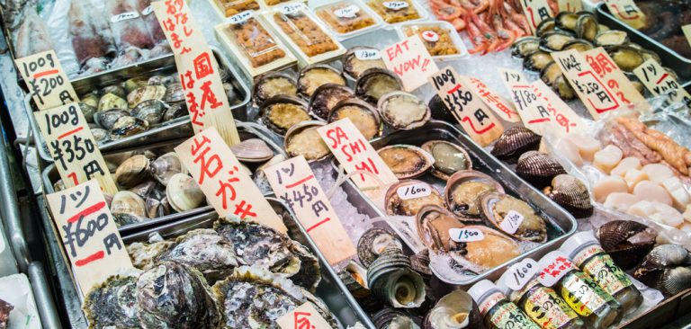 Japan: 5 x restaurants in Kyoto