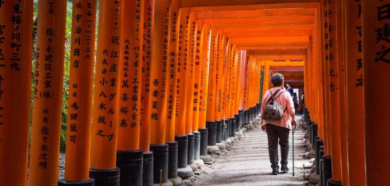 Route en planning: 2,5 week Japan