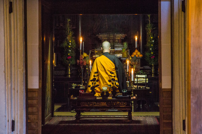 Japan: Bijzonder overnachten in een tempel in Koya-san