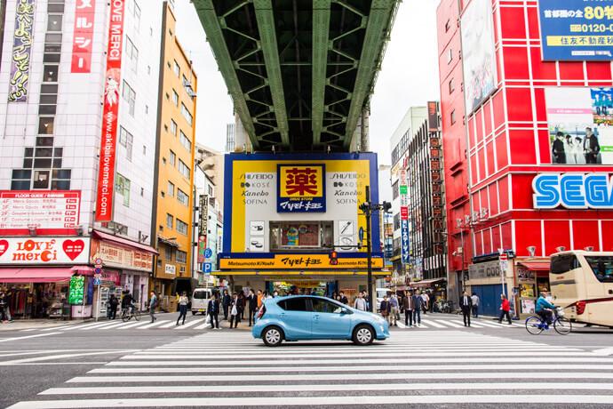 Akihabara, de gamewijk van Tokyo