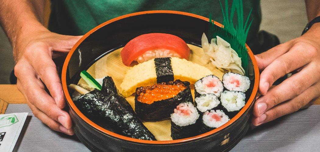 Sushi workshop in Tokyo, Japan