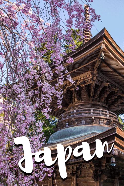 Reisblogs over Japan