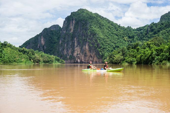 Doen in Luang Prabang: Kajakken over de Mekong en boeddha's tellen in de Pak Ou Caves