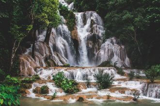 Kuang Si Watervallen in Laos