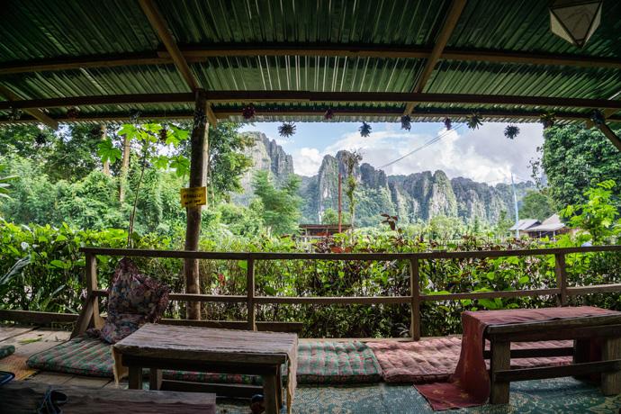Lao Valhalla: Een hele mooie Airbnb in Laos (Vang Vieng)