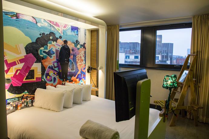 Goedkoop hotel in Londen: Qbic Hotel in Shoreditch