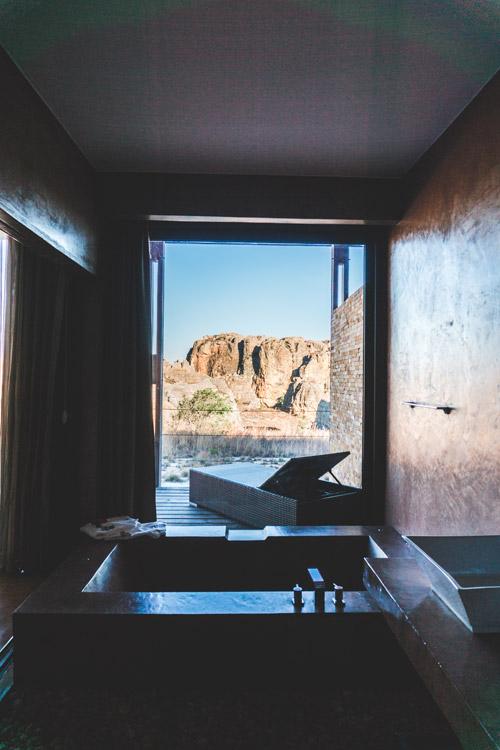 Ranohira Isalo Rock Lodge in Madagascar