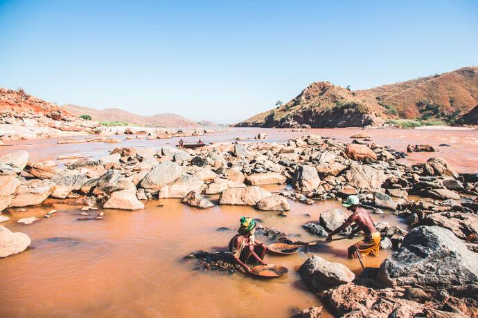 Madagascar bezienswaardigheden: Tsirihibina rivier