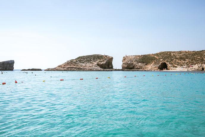 Stranden Comino, Malta
