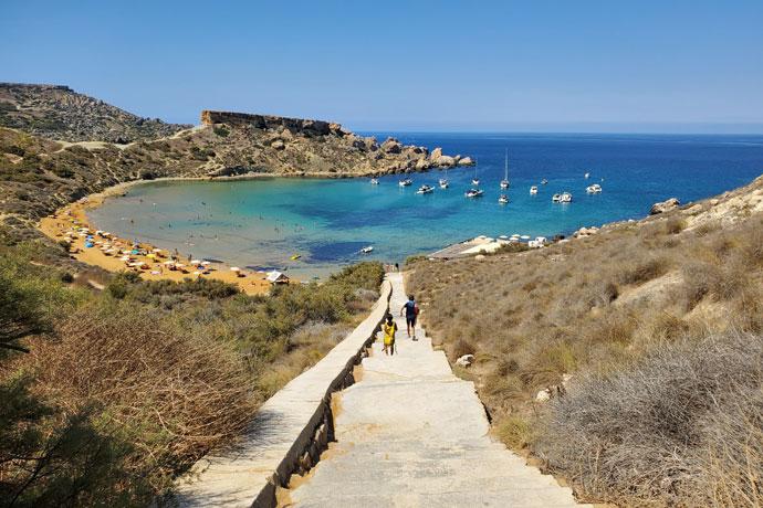 Stranden Malta