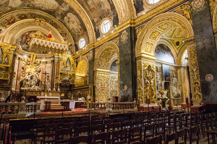 St Johns Co Cathedral, Valletta, Malta
