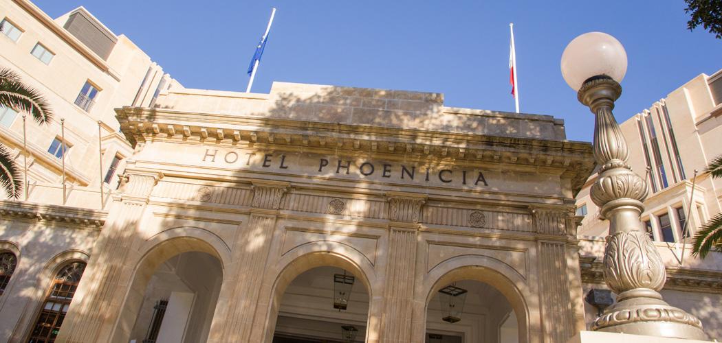 Leuk hotel Malta: The Phoenicia Hotel in Valletta