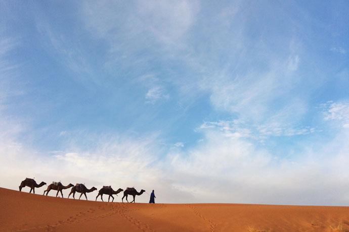 Mooiste plekken in Marokko: Sahara